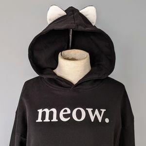 Freeze meow. Hooded Sweatshirt Medium Weight XL 🆕